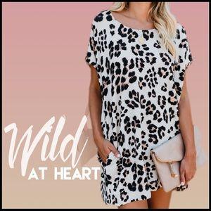 Leopard Print Tunic/Dress